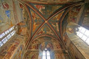 Сводчатый потолок в Папском Дворце в Авиньоне
