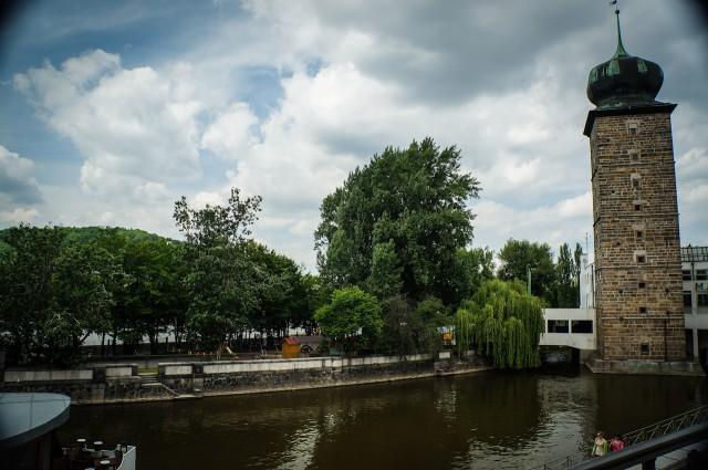 Шитковская водонапорная башня в Праге