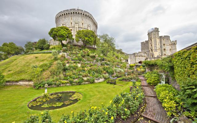 Сад в Виндзорском замке