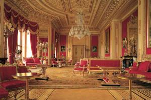 Интерьеры Виндзорского замка в Англии