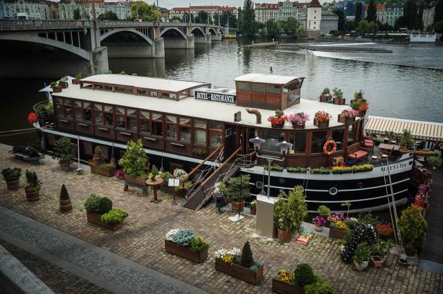 Отель на воде Матильда в Праге