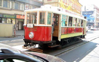 Исторический маршрут. 120 лет трамваям Праги.