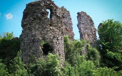 Хуст — замок Дракулы