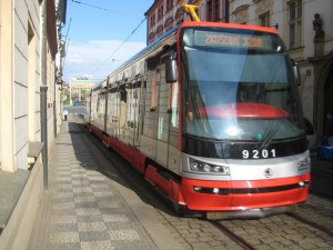 Пражский трамвай Шкода