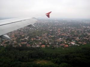 Посадка в Будапеште