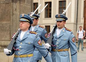 Смена караула в Пражском Граде