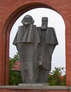 Карл Маркс и Фридрих Энгельс в Будапеште