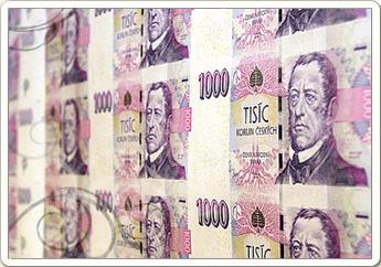 Обмен валюты в Праге.