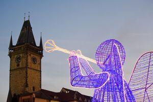 Рождественские ярмарки в Праге 2010