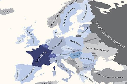 Европа по мнению жителей Франции