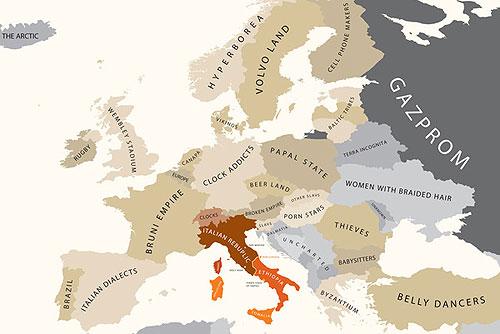 Европа по мнению итальянцев