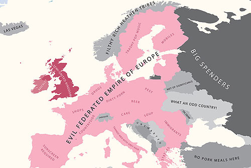 Европа по мнению англичан